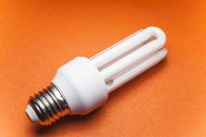 ampoule pour le monde vert photo