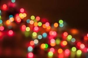 fond de bokeh de lumière de Noël