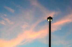 éclairage public photo