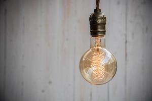 décor d'éclairage vintage photo