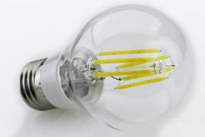 Ampoule led e27 6w blanc chaud avec six bâtons lumineux 1w photo