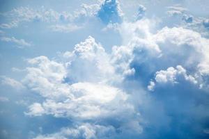fond de ciel bleu photo
