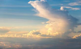 beau ciel photo