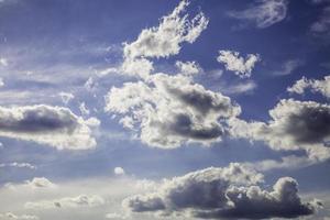 ciel bleu dynamique photo