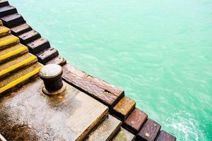 escaliers de la jetée
