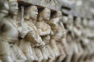 ruines du temple hindou photo