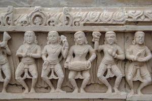 art du temple hindou photo
