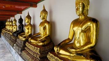 exposition de Bouddha en Thaïlande