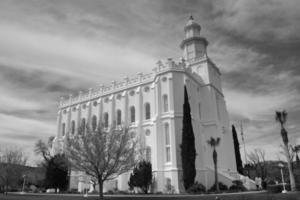 Temple de Saint-Georges Utah