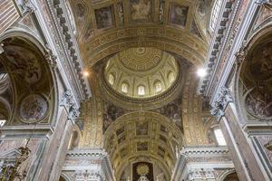Barroco église du gesu nuovo, Naples, Italie photo