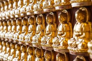statues de Bouddha dans le temple