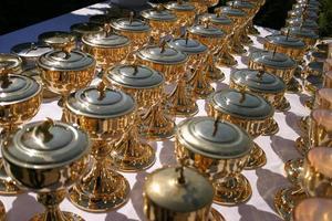 calices liturgiques photo