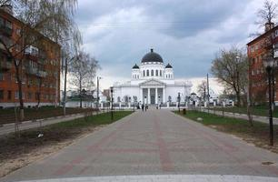 cathédrale spasskiy à nijniy novgorod photo