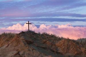 dune de sable croix noire photo