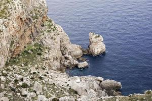 Côte rocheuse photo