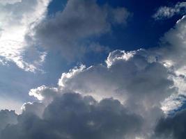 beau ciel et nuage photo