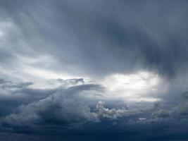 tempête dans le ciel photo