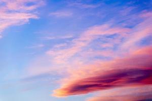 nuages colorés