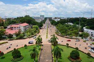 vue de dessus paysage urbain photo