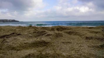 plage sable mer photo