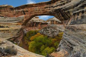 Monument national des ponts naturels, Utah photo