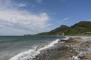 mer de tempête. photo