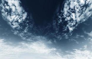 nuages noirs photo
