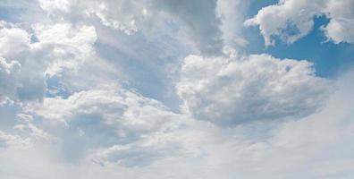 nuages blancs photo