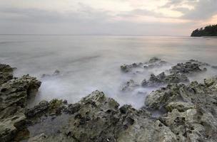 Plage de Radhanagar, île de Havlock, vers avril 2014
