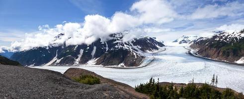glacier de saumon photo