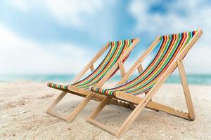 plage, climat tropical, palmier photo