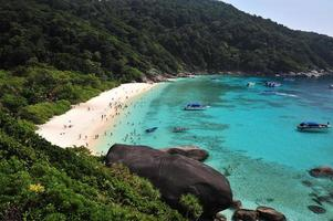 Île Similan dans la mer d'Andaman en Thaïlande