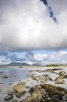 Côte à Tully Cross, Parc National du Connemara, comté de Galway