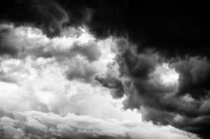 des nuages orageux photo