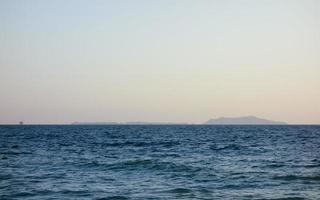 Channel Islands au crépuscule, le sud de la Californie