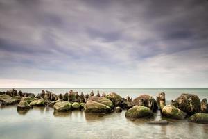 épis sur la mer baltique