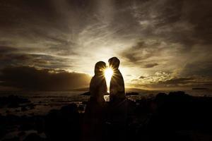 embrasse au soleil