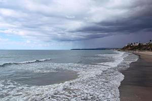 Stormy San Clemente, Californie du Sud