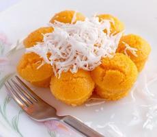 gâteau aux palmiers toddy (kanom tarn)