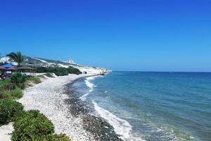 plage de chypre photo