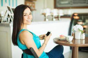 réseautage social dans une pâtisserie photo