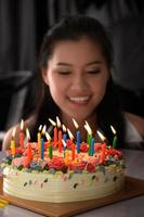 gâteau d'anniversaire photo