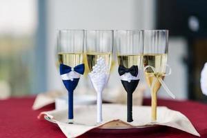 lunettes de mariage photo