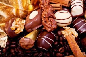 bonbons au chocolat. photo