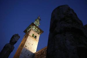 Syrie Damas mosquée Omaijad
