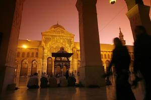 syrie damaskus mosque