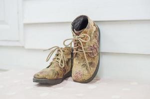chaussures de mariage photo