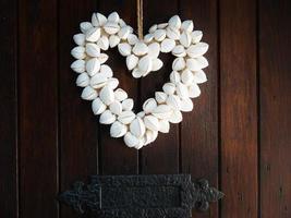 coeur à la porte