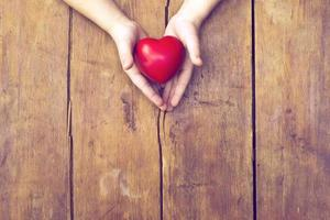 coeur en mains photo