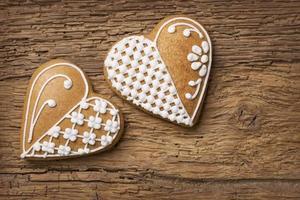 biscuits au cœur en pain d'épice